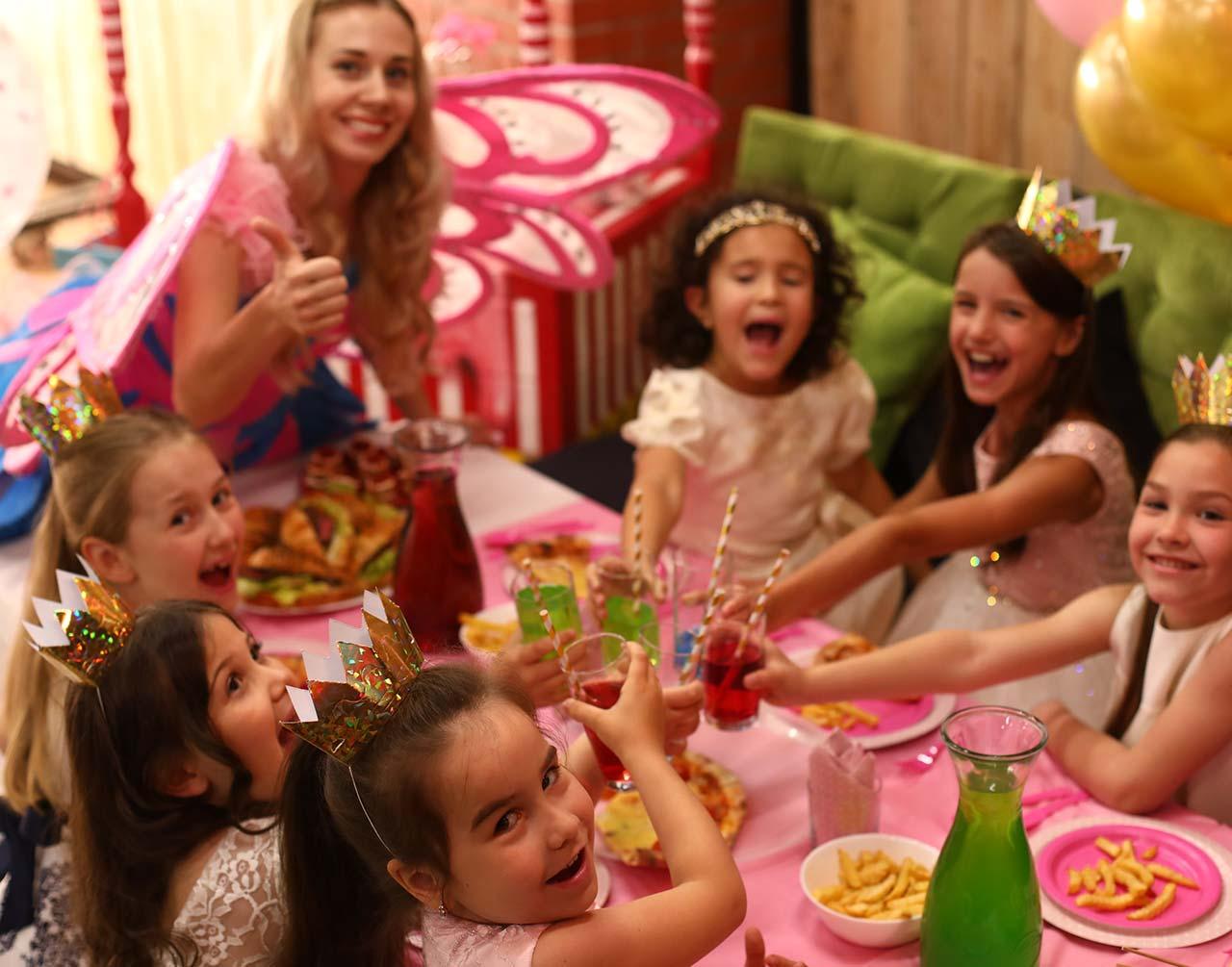 Счастье на детском празднике